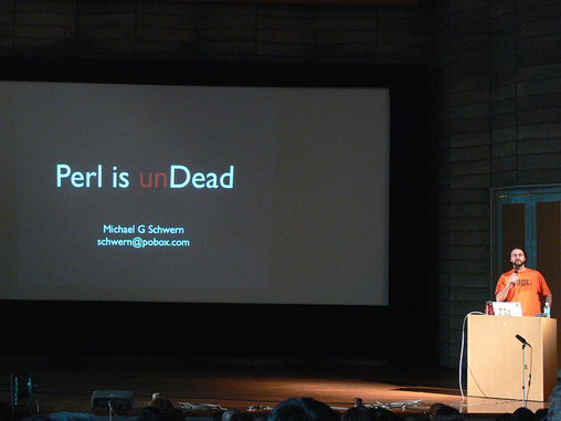 Michael Schwern (?Schwern?) - ?Perl Is unDead