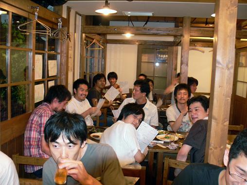 Kanasan.JS 懇親会で抜き打ちテスト